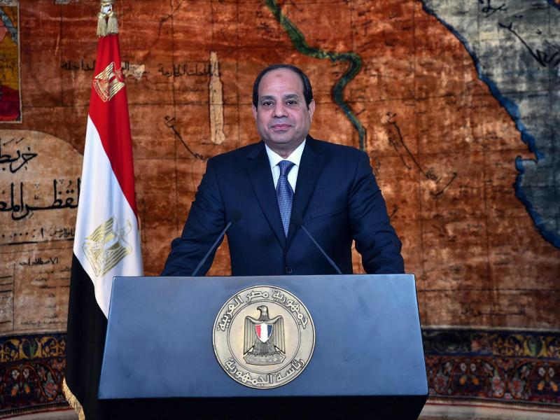 Bild zu Präsident al-Sisi