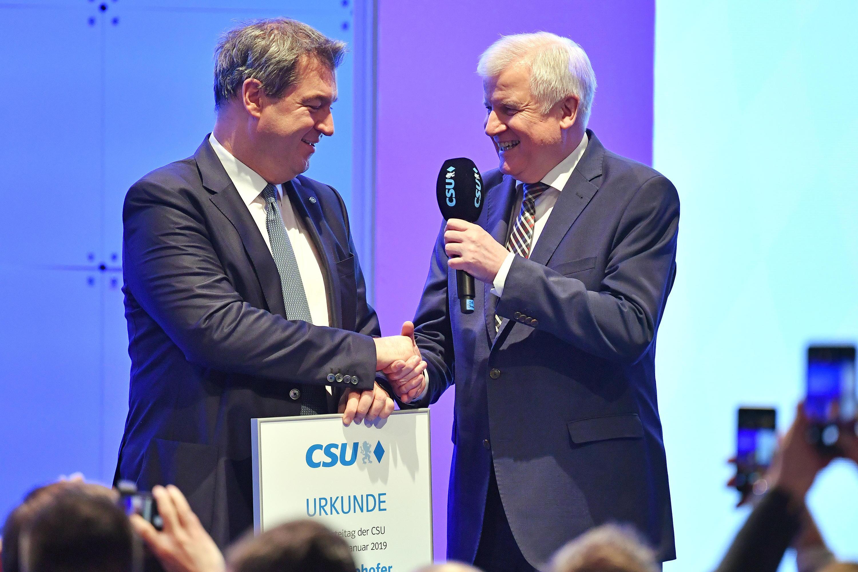 Bild zu CSU-Sonderparteitag