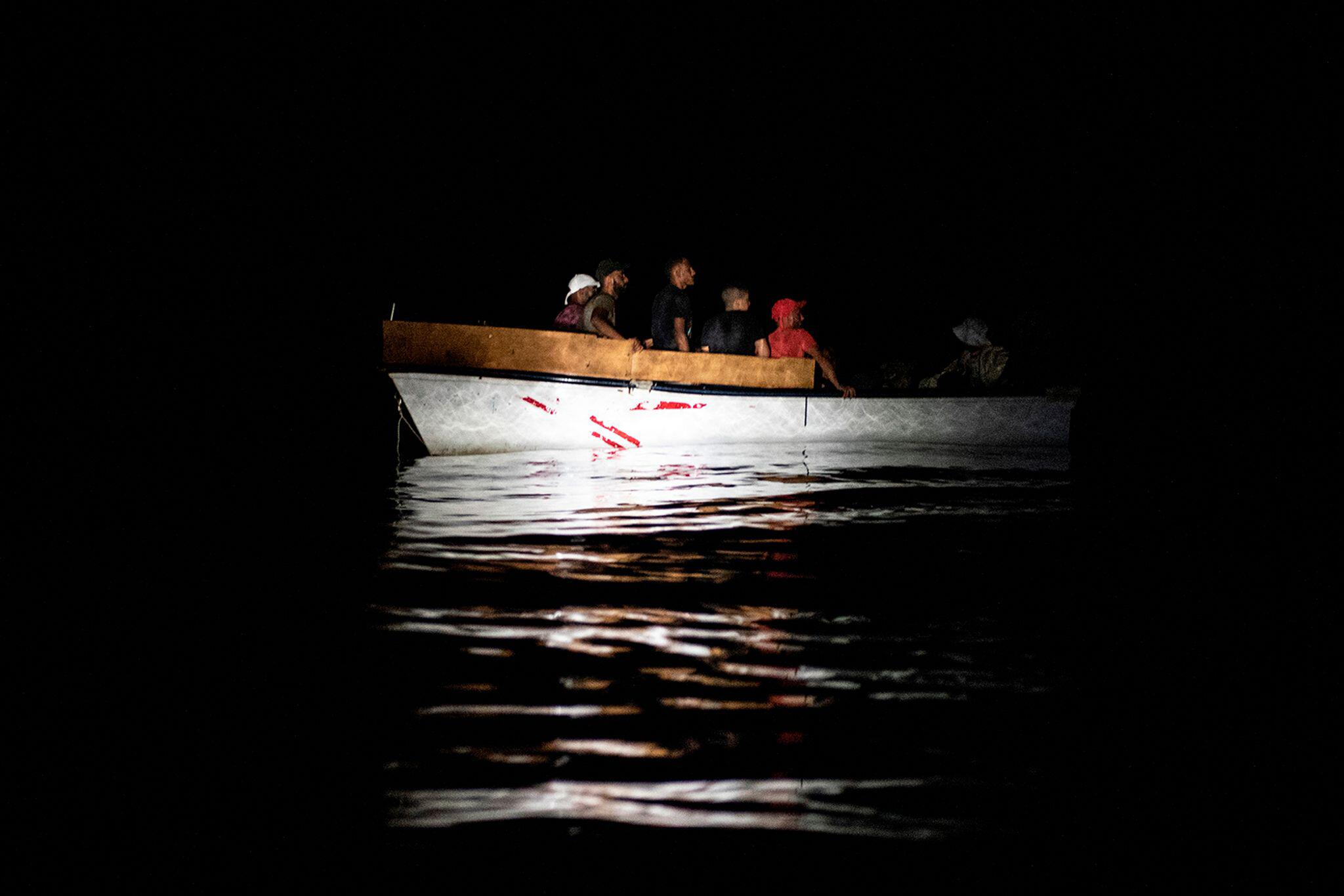 Bild zu Migrantion - «Ocean Viking» im Mittelmeer