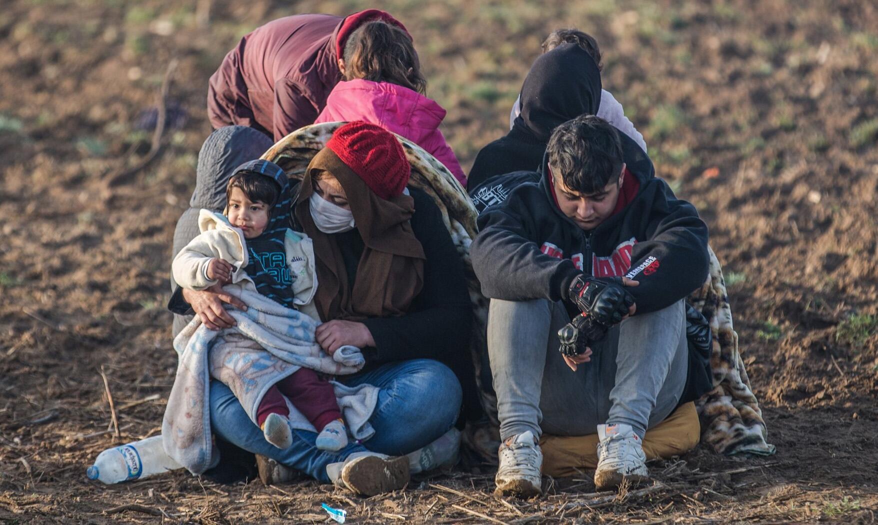 Bild zu Migranten an der türkisch-griechischen Grenze