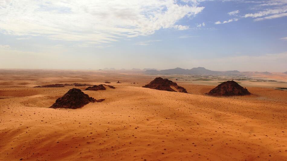 Frühe Menschen auf der Arabischen Halbinsel