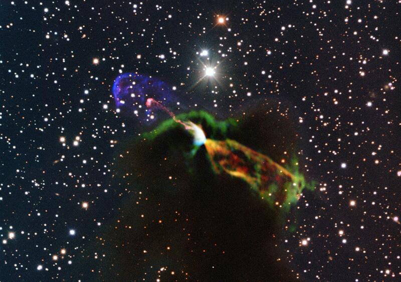 Bild zu Sternentstehungen sind erstaunlich energiereich