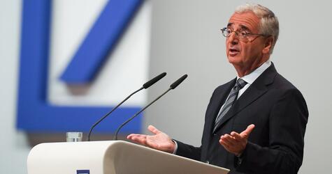 Deutsche Bank, Jahreshauptversammlung, Paul Achleitner, Aufsichtsratsvorsitzender, Rede