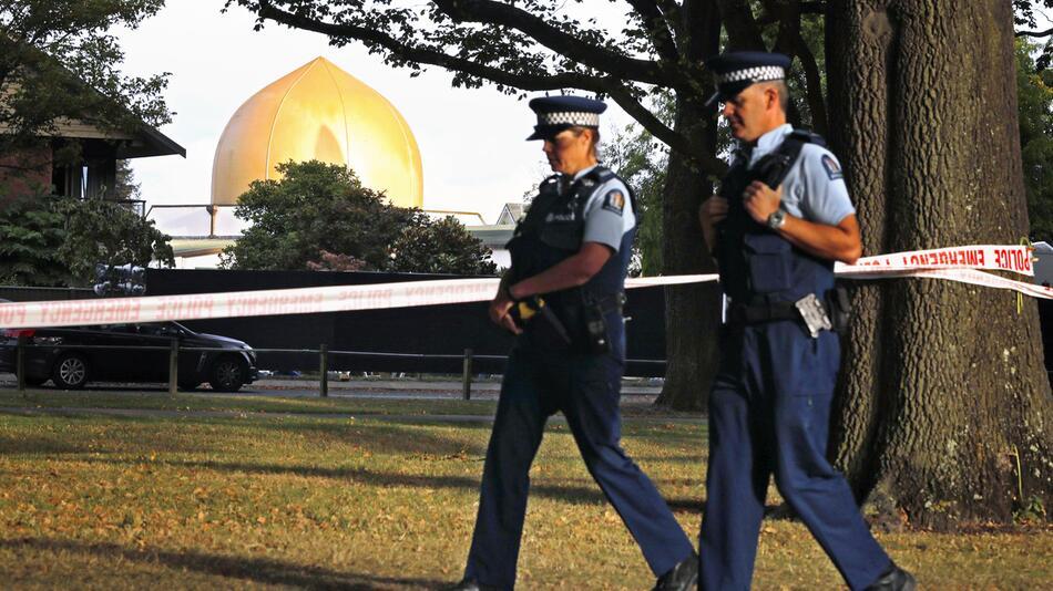 Terroranklage gegen mutmaßlichen Attentäter von Christchurch