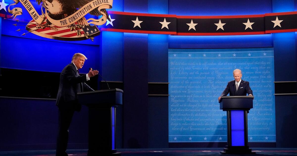 Der Zusammenstoß der Kandidaten