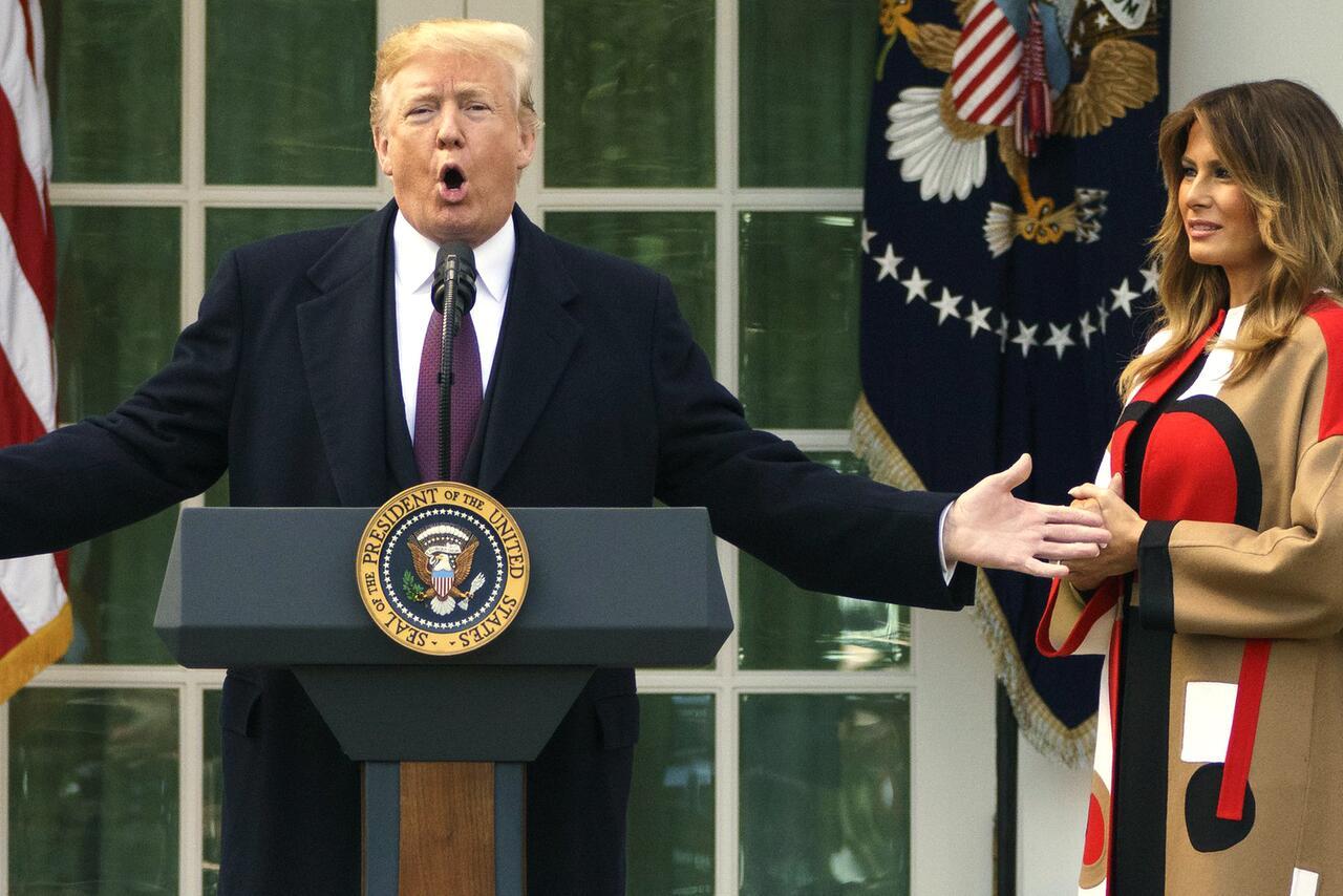 Bild zu Begnadigung der Thanksgiving-Truthähne im Weißen Haus