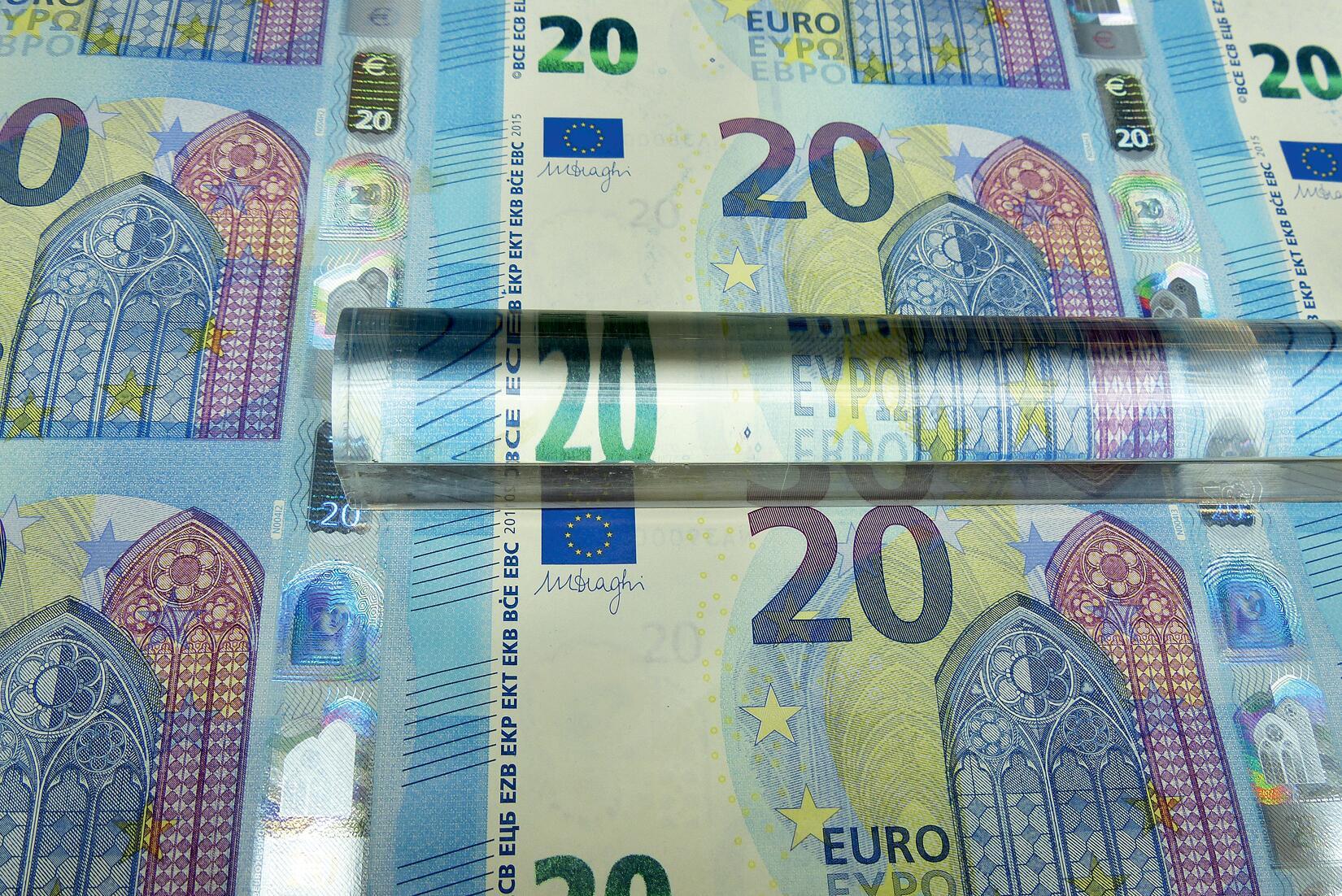 Bild zu 20 Euroschein Design Europaserie