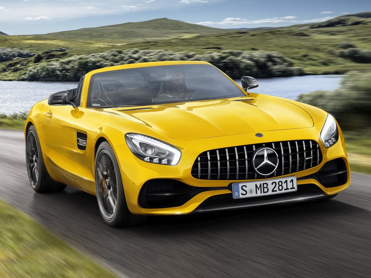 Bild zu Mercedes-AMG GT S Roadster