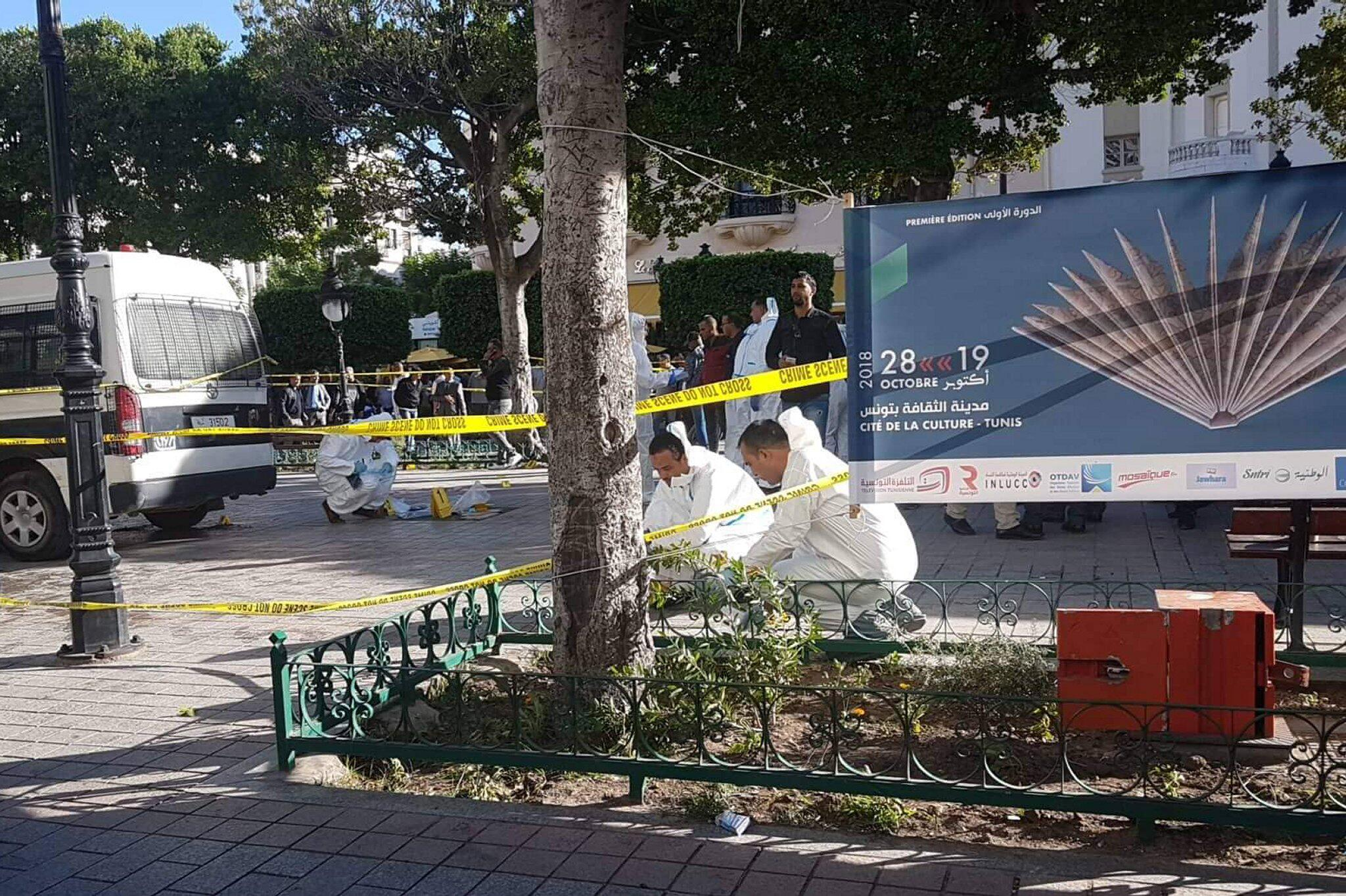 Bild zu Heftige Explosion erschüttert Zentrum von Tunis