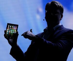 Samsung stellt faltbares Display vor