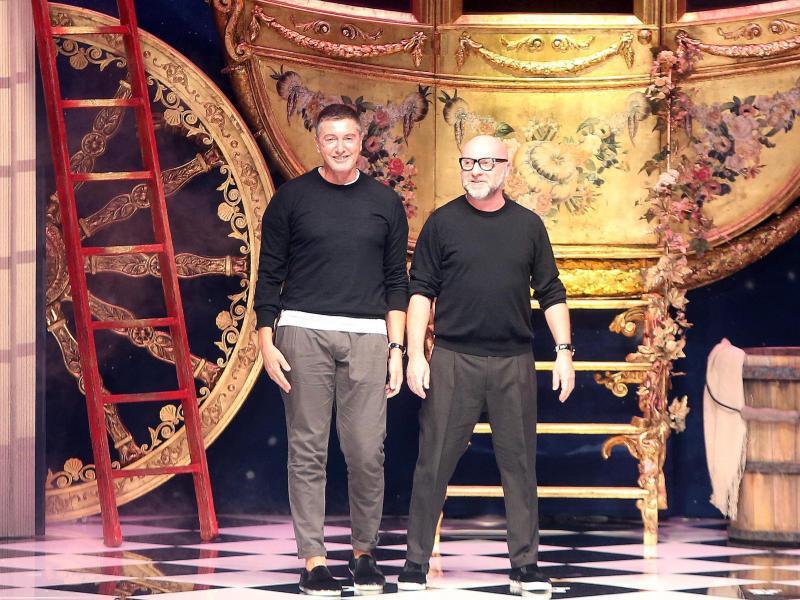 Bild zu Milan Fashion Week . Dolce & Gabbana
