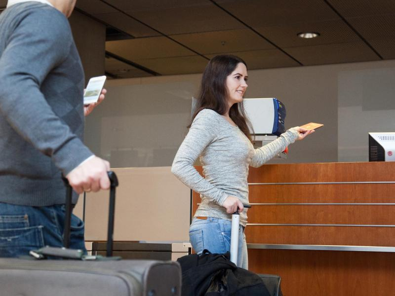Bild zu Empfang am Flughafen