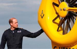 Prinz William, Helikopter