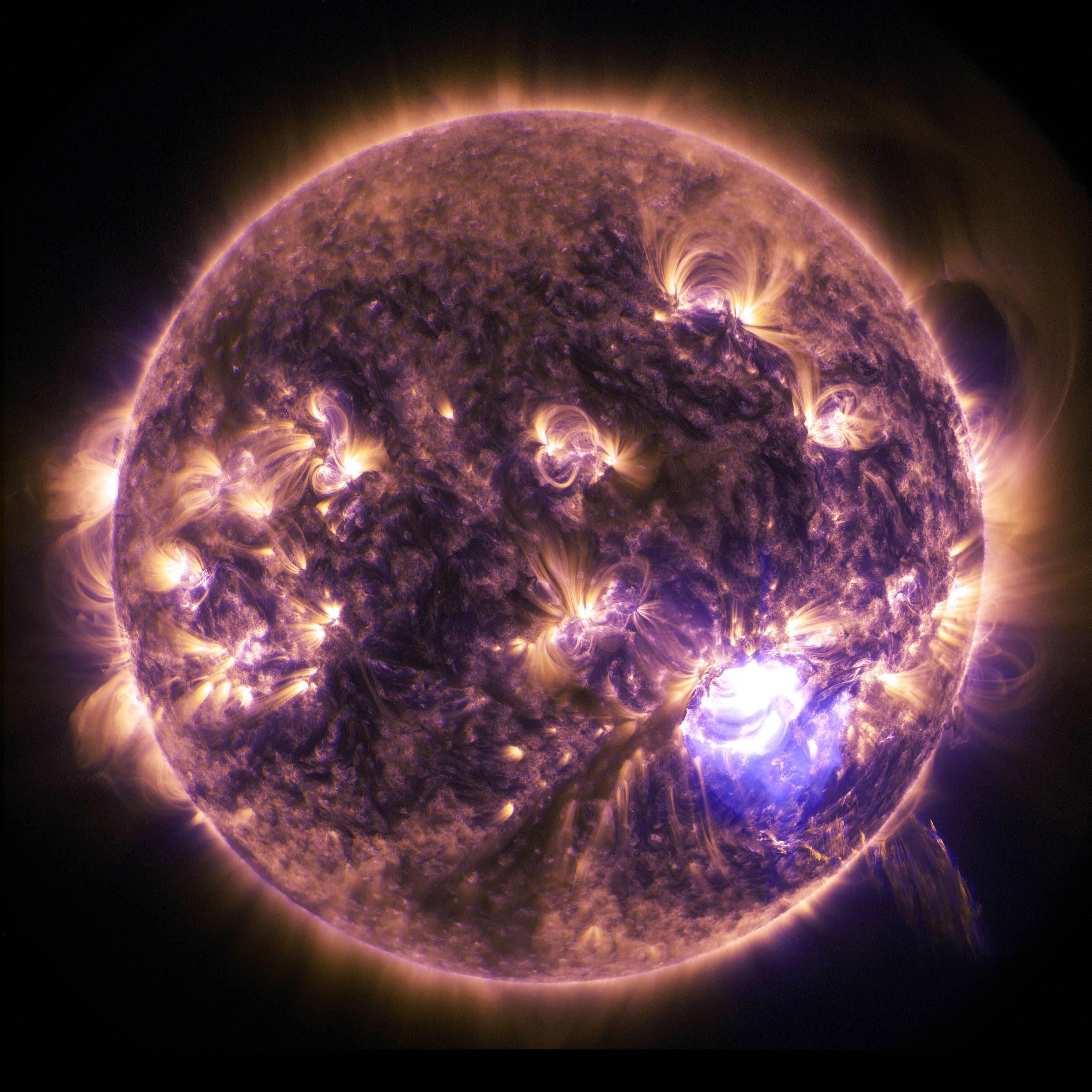 Bild zu Die Sonne fasziniert die Menschen.
