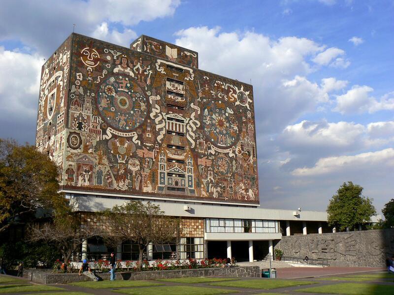 Bild zu Biblioteca Central, Mexiko