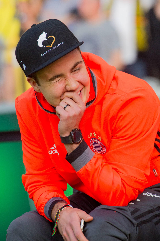 Bild zu Mario Götze bleibt beim FC Bayern