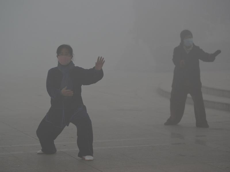 Bild zu Smog in China