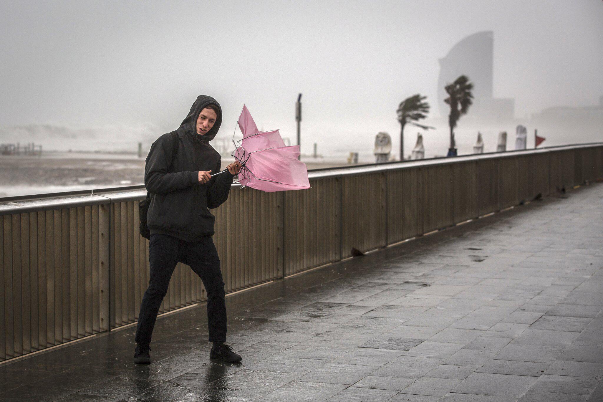 Bild zu Sturmtief «Gloria» in Ostspanien