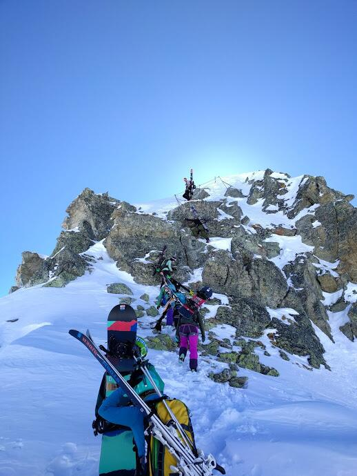 Bild zu Rendl-Grat, Arlberg, Klettersteig, Winter