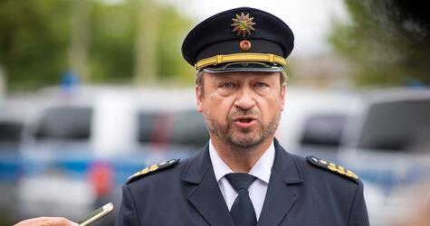 Landespolizeipräsident Georgie zu geplanten Demonstrationen in C