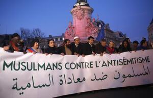 Frankreich Protest gegen Antisemitismus