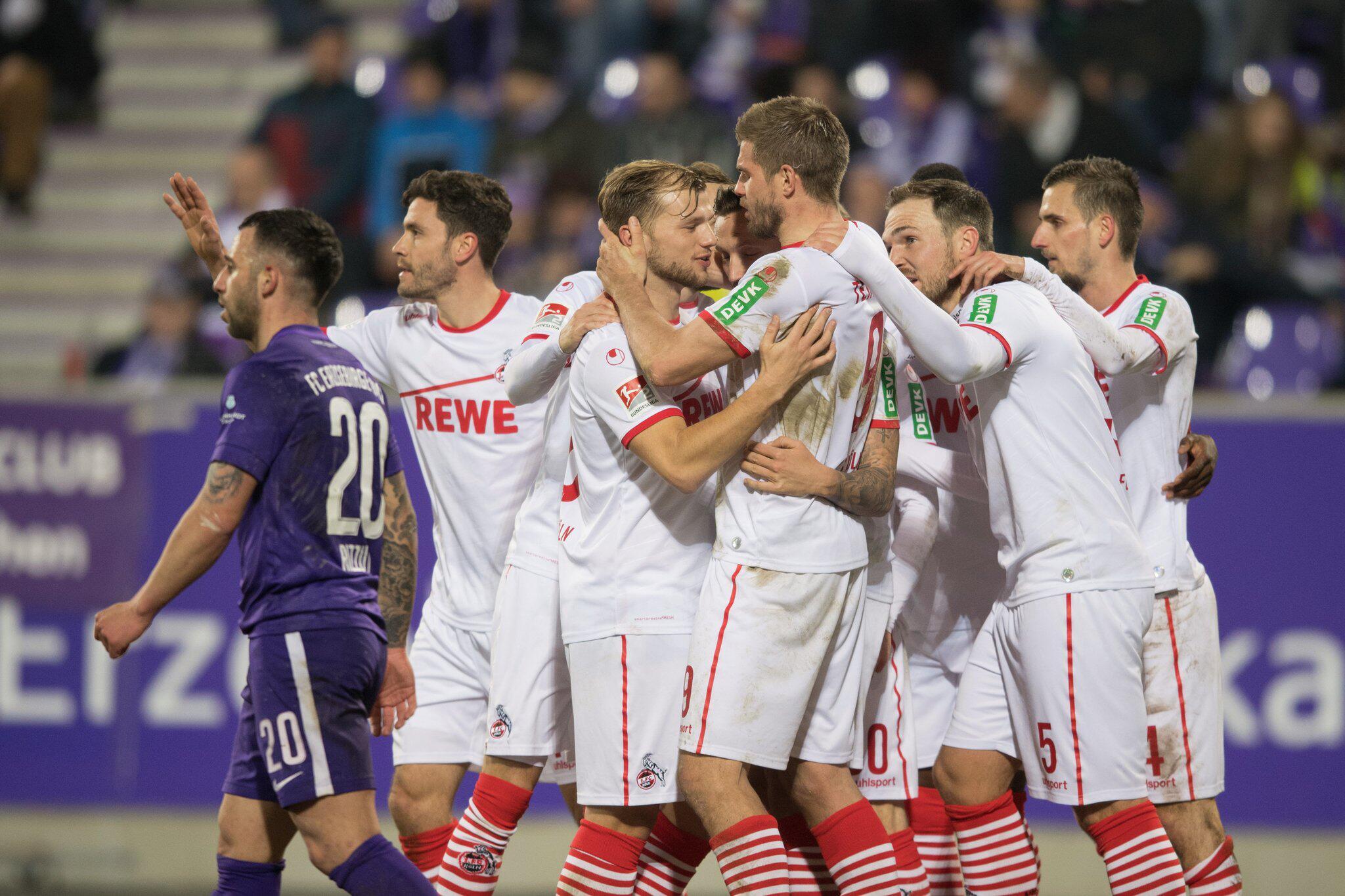 Bild zu Erzgebirge Aue - 1. FC Köln