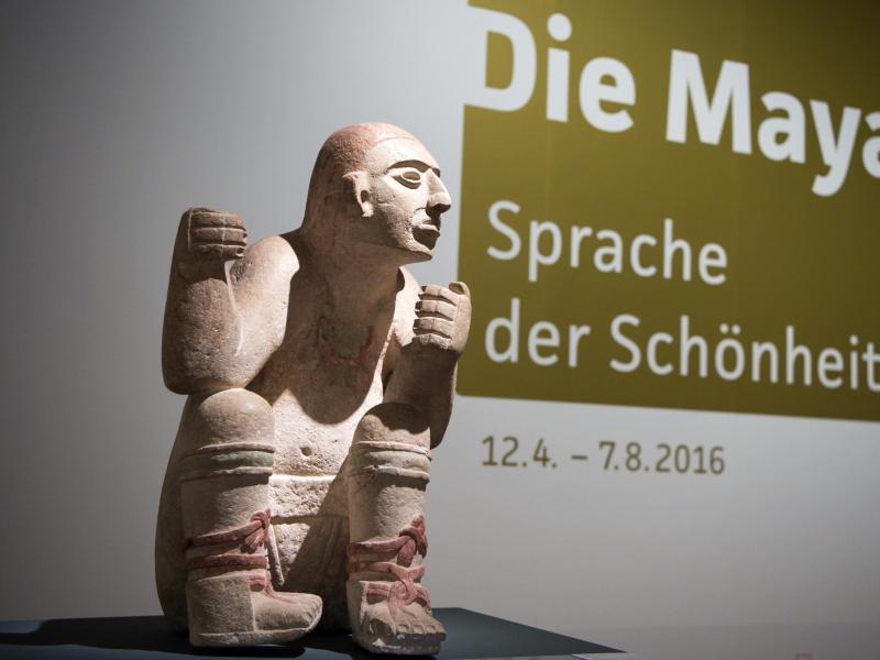 Bild zu Ausstellung «Die Maya»