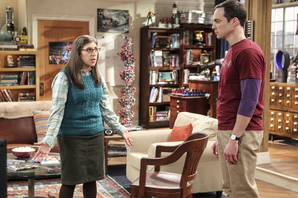 Amy Farrah Fowler, Mayim Bialik, Sheldon Cooper, Jim Parsons, The Big Bang Theory