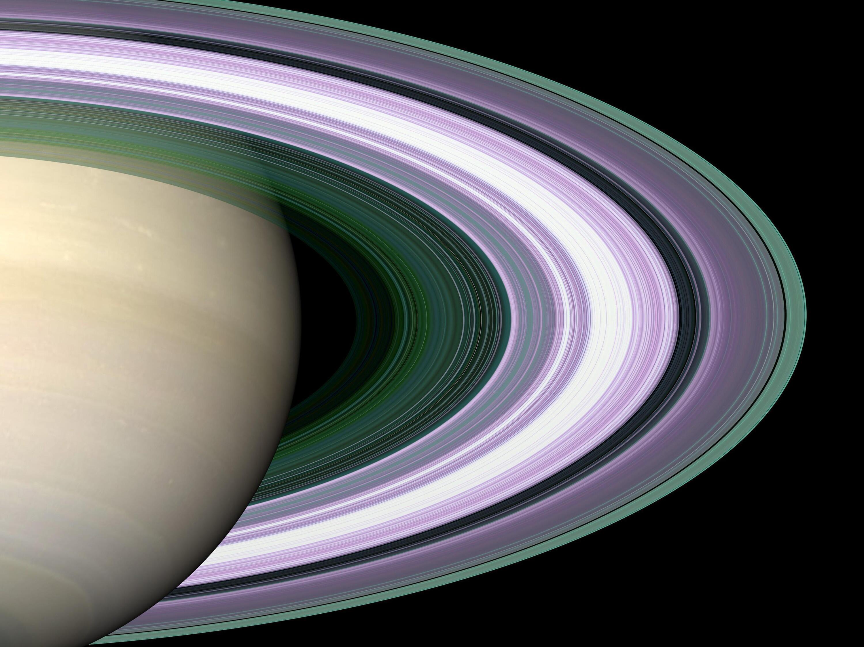 Bild zu Saturnringe