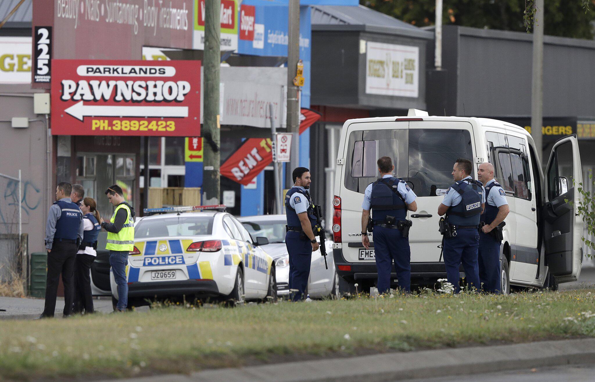 Bild zu Schüsse in Moschee in Neuseeland