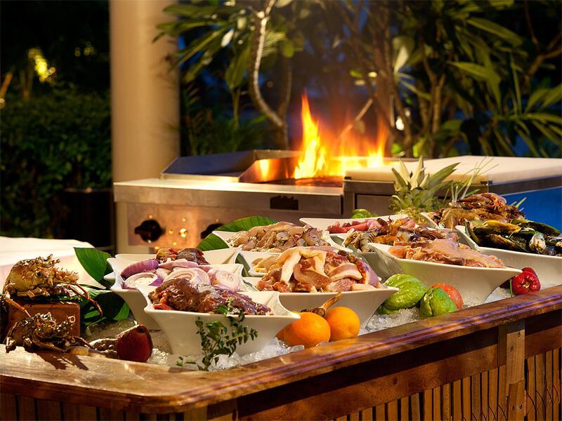 Bild zu Live Cooking in Baie Lazare