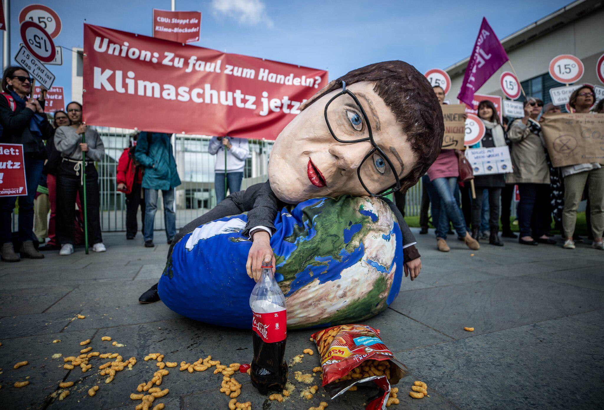 Bild zu Klimakabinett im Kanzleramt.