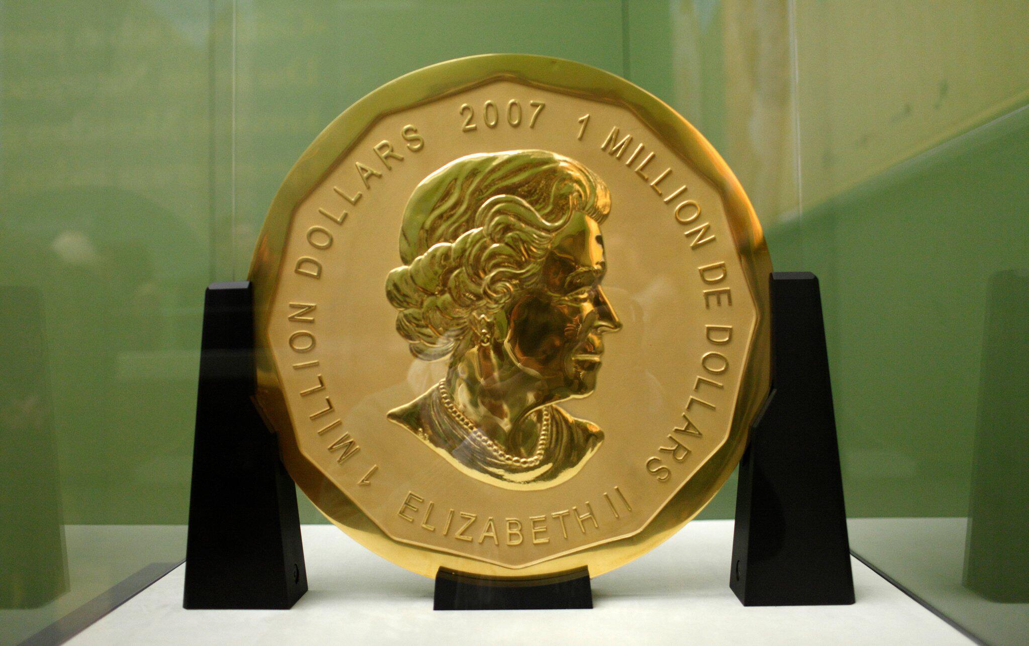 Bild zu Prozess wegen Diebstahls der Goldmünze «Big Maple Leaf»