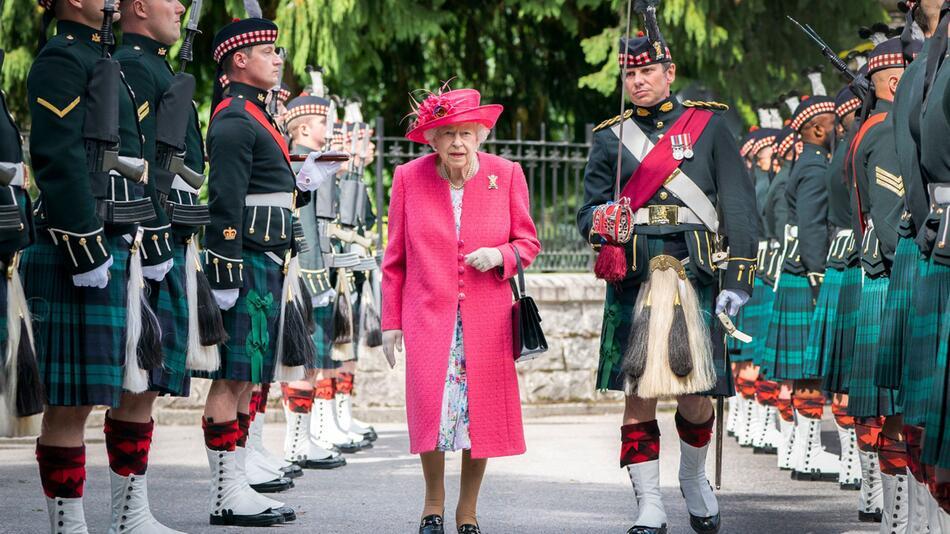 Britische Königin Elizabeth II. in Schottland