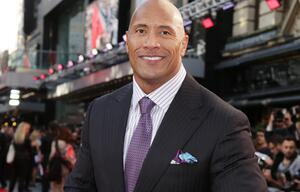 Dwayne Johnson, The Rock, Sexiest Man Alive