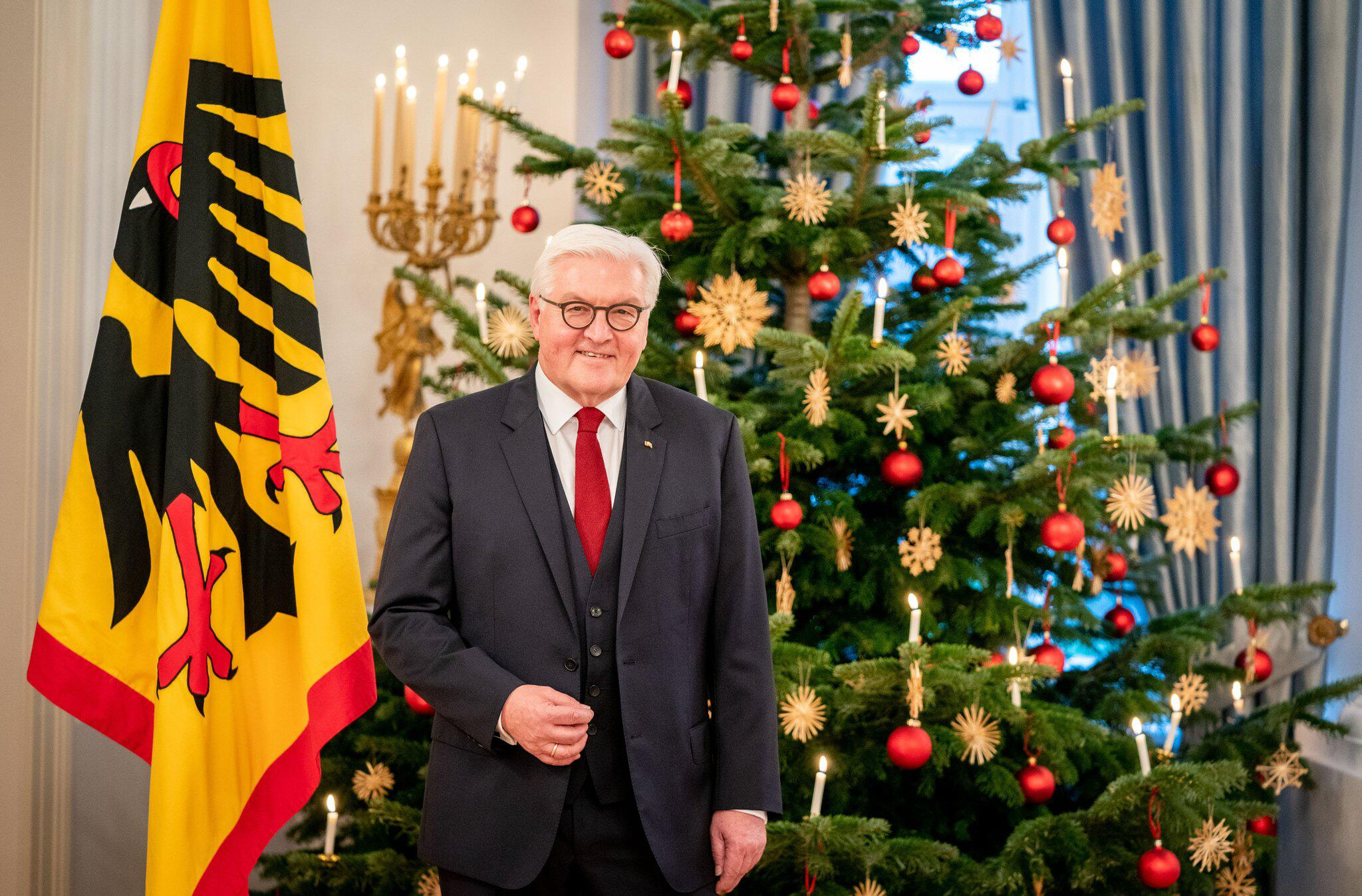 Bild zu Photo session for the Christmas address of the Federal President