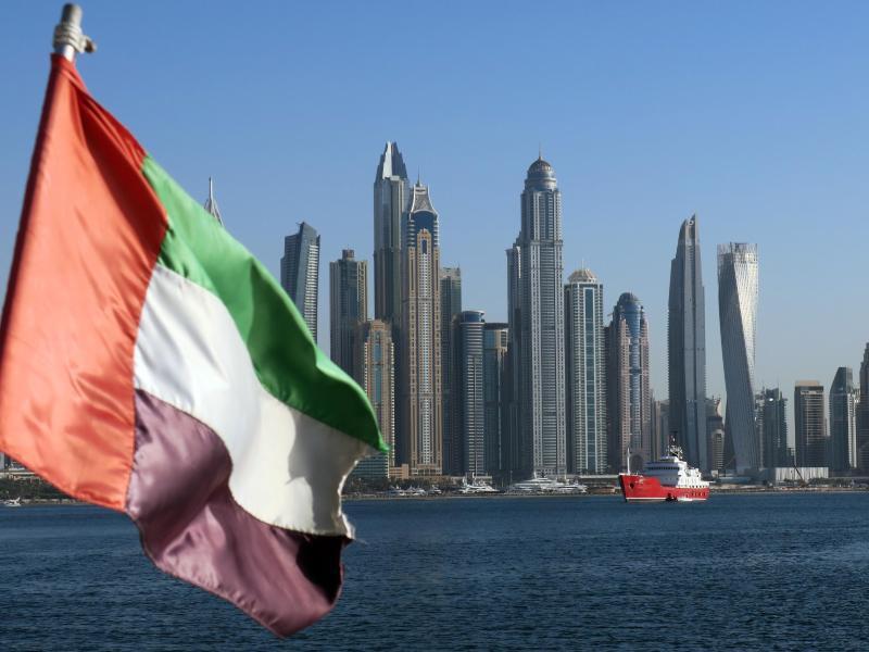 Bild zu Stadtansicht von Dubai