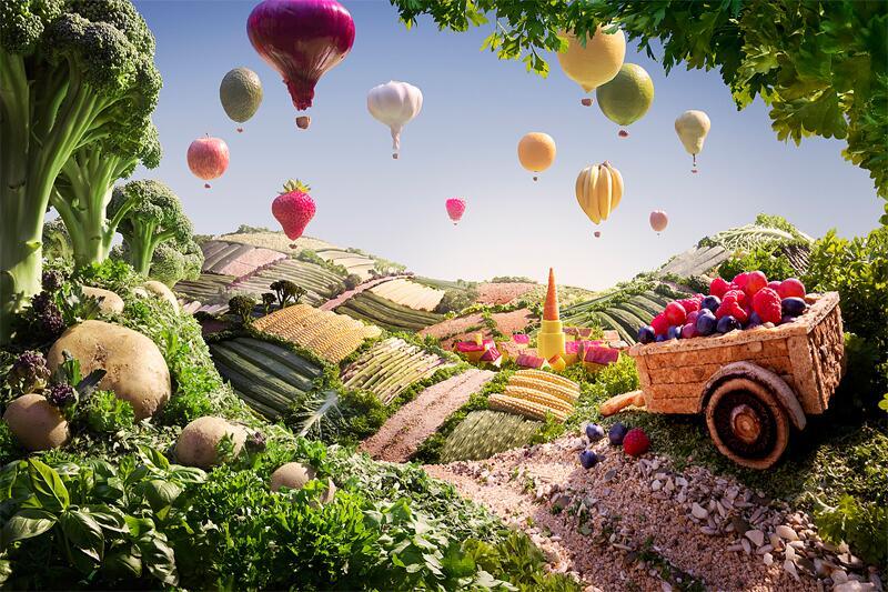 Bild zu Lebensmittellandschaften