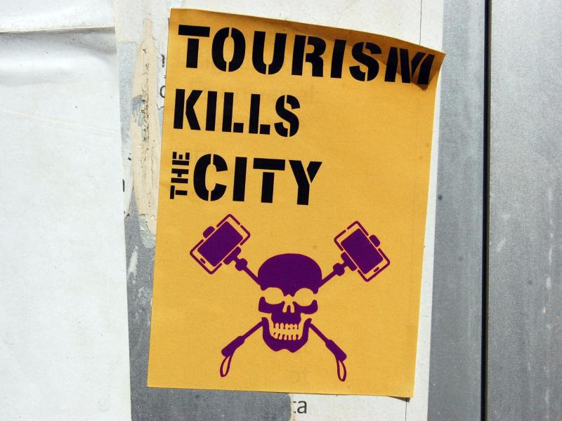 Bild zu Kampagne gegen Touristen