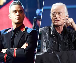 Robbie Williams, Jimmy Page, Streit, Nachbarn