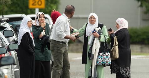 Schüsse in Moschee in Neuseeland