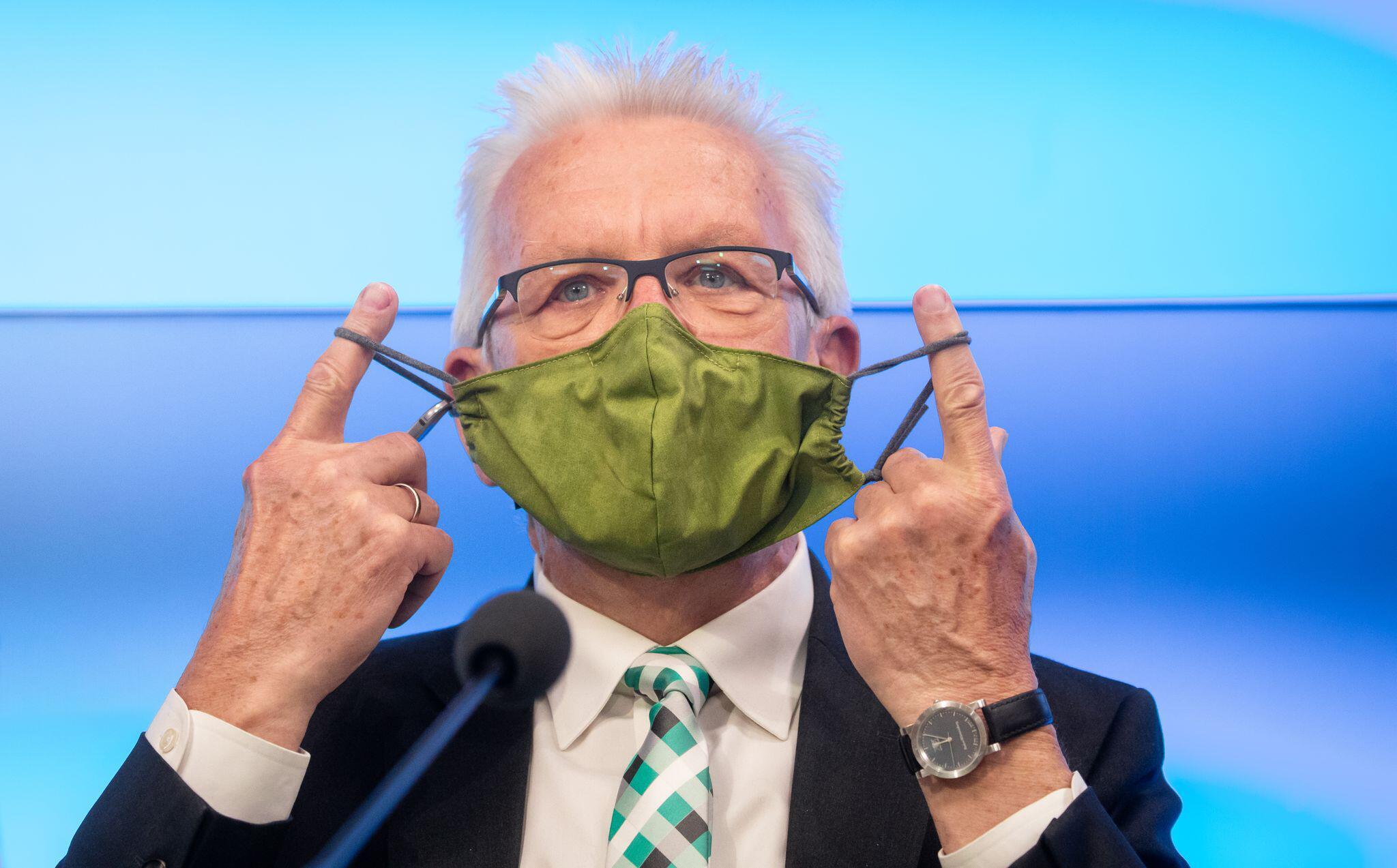 Bild zu Baden-Württembergs Ministerpräsident Kretschmann