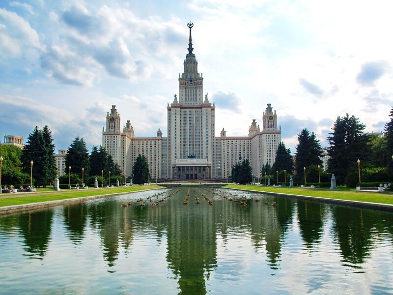 Bild zu Lomonosov Moscow State University Main Building, Russland