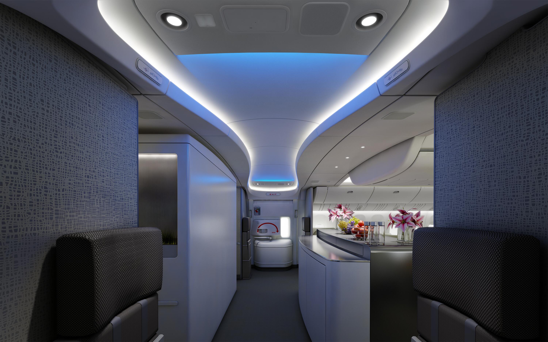 Bild zu Flugzeugkabine