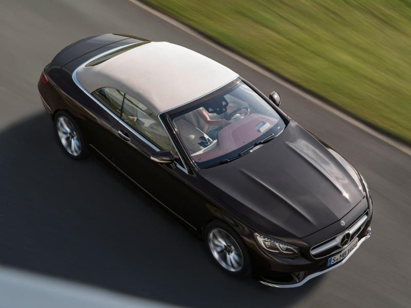 Bild zu Mercedes S-Klasse Cabrio