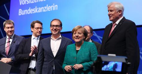 Angela Merkel, CSU-Parteitag