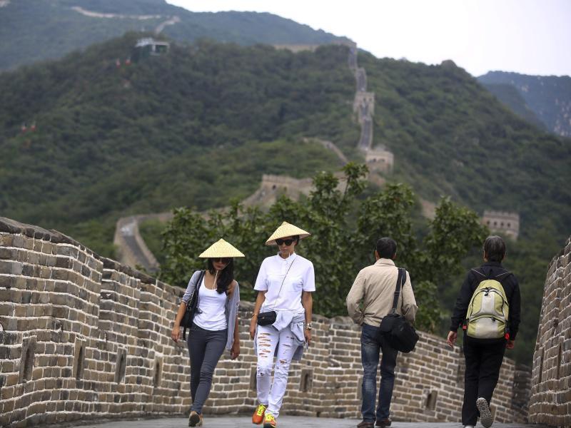 Bild zu Chinesische Mauer bei Mutianyu