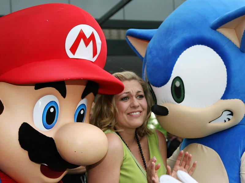 Bild zu Mario und Sonic