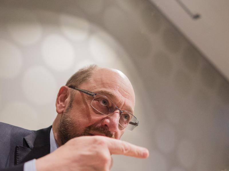 Bild zu SPD-Chef Schulz in Düsseldorf