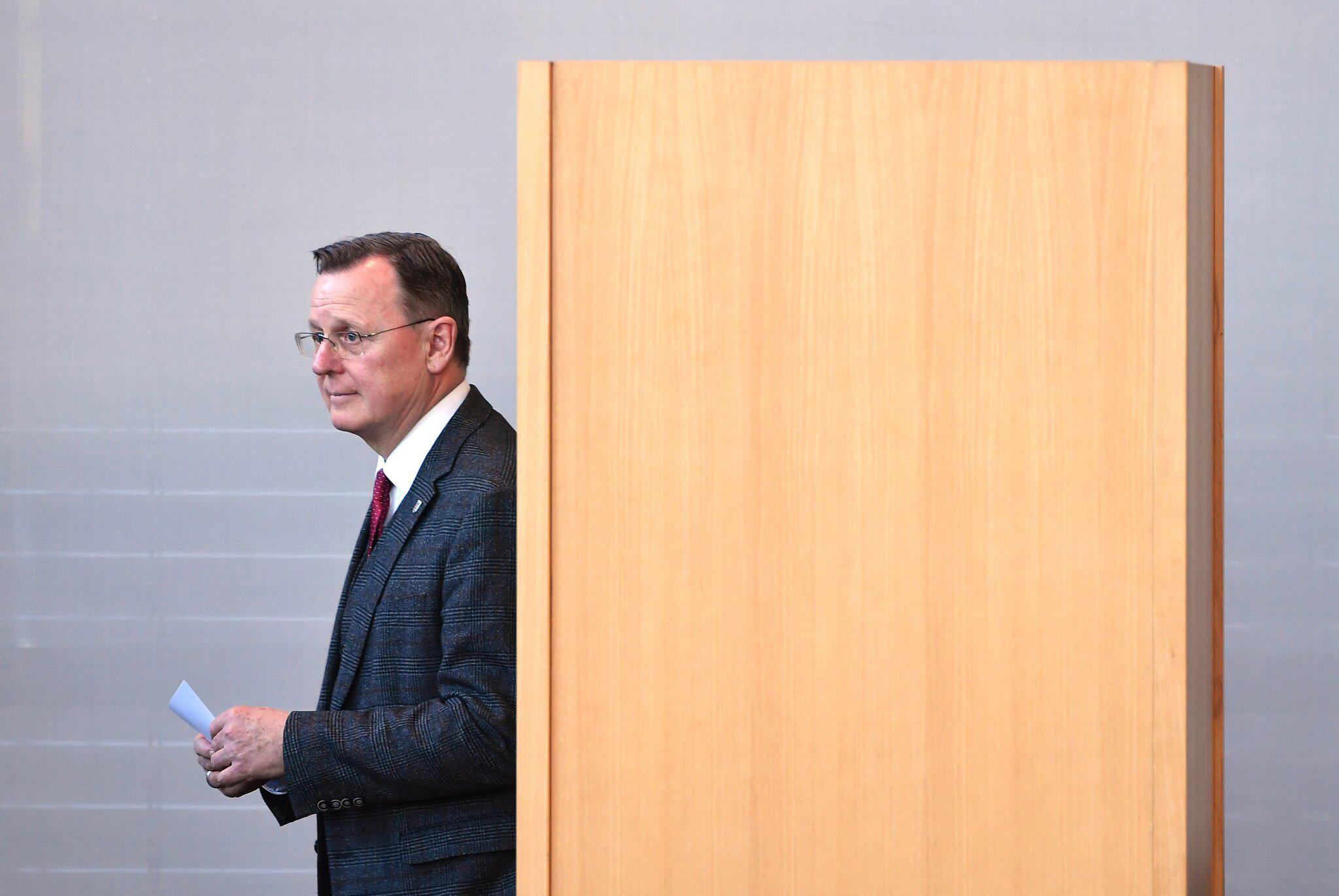 Bild zu Ministerpräsidentenwahl in Thüringen